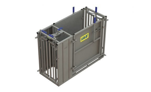F051 2817 10 – Sheep Self Closing Docking Crate