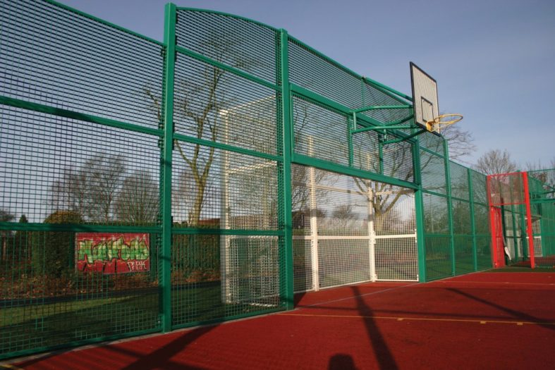 Special Striker Goal End with 5m wide Goal – Top Shots Ballcourts
