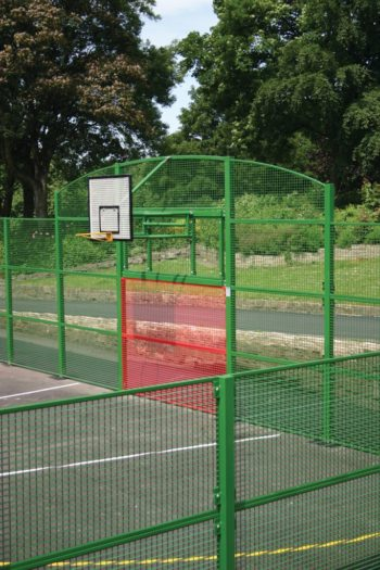 Trainer Goal End – Top Shots Ballcourts