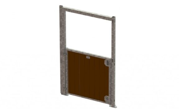Corner Bottom Swing Door