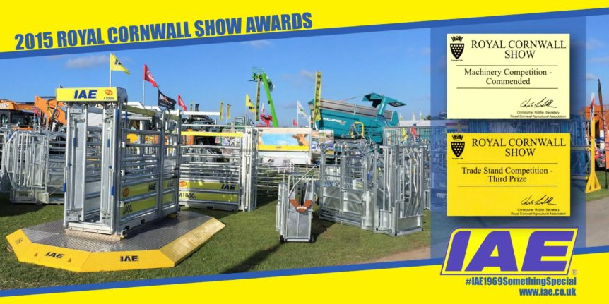 Cornwall Show Awards 2015